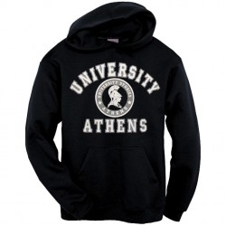Black Hoodie Athens University