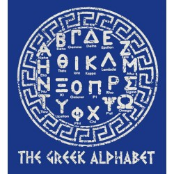 The Greek Alphabet T-shirt