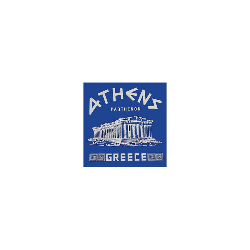 Athens Parthenon Handmade Tshirt 100% Cotton e85f270eae4