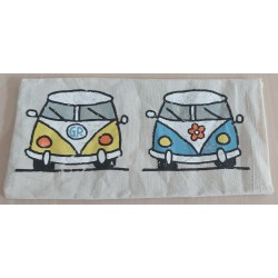 POUCH WITH CARS FOR MASK