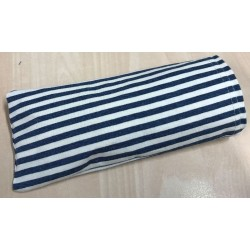 POUCH WITH MARIN STRIPES FOR MASK