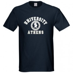 athens university tshirt