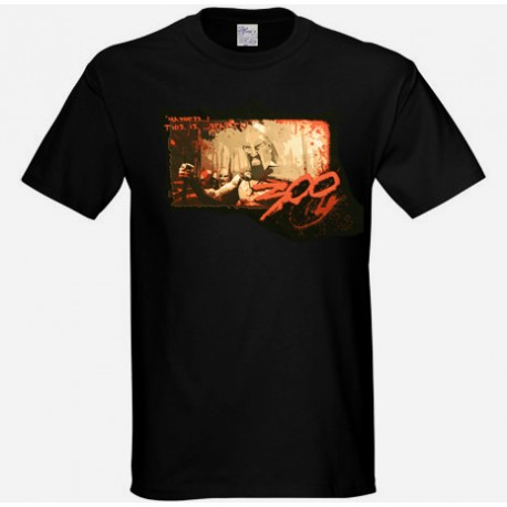 tshirt of the movie 300