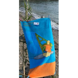 BEACH TOWEL SAILING ATHENS 2004 OLYMPIC GAMES