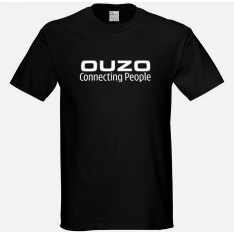OUZO CONNECTING PEOPLE T SHIRT