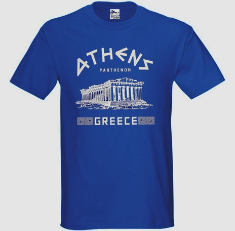ATHENS PARTHENON T SHIRT