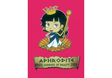 GODDESS APHRODITE KID'S T SHIRT
